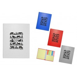 4164 Etui en carton avec post-it Fun Poya Swiss Design