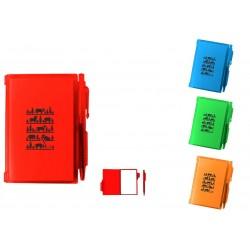 4165 Carnet de notes en plastique Fun Poya Swiss Design