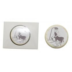 4166 Pastille de bain - savon avec Fun Poya Swiss Design