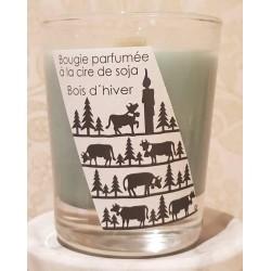 "4159 Bougie parfumée avec la cire de soja \""Swiss design, fun Poya\"""