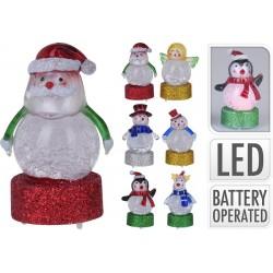 5440 Figurine de noël avec LED