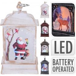 5442 Lanterne de Noël avec LED