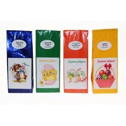 2510C Sachet de thé de 100 g avec étiquette de Pâques