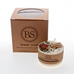 5620 Bougie parfufée Beauty Scents vin chaud