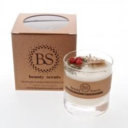 5654 Bougie parfumée bauty scents fraise