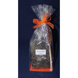 5694 Cadeau avec thé et stick de sucre cristallisé