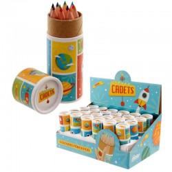 5801 Crayons de couleurs espace