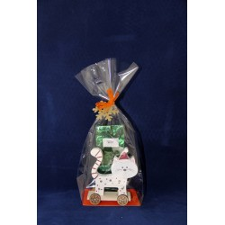 4713A Set cadeaux avec chat LED et 100g de thé
