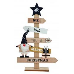 6114 Sapin de Noël en bois
