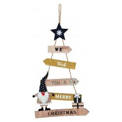6119 Sapin de Noël en bois