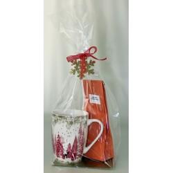 6141A Tasse en porcelaine avec 100g de thé